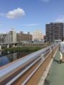 綱島駅近辺。ホテルゴルフと見える。