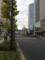 白金高輪駅付近、東京タワーが見えて来た