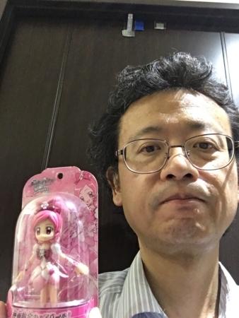 300号さんと記念撮影(自撮り)