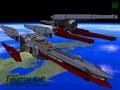 [3DCG][DoGA][宇宙艦]新たなる艨艟~新造艦 駆逐宇宙艦〔雪風〕〔初風〕、軌道上にて~