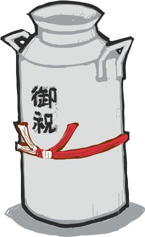 20140426牛乳先生&かぷ子さんの結婚を祝う会