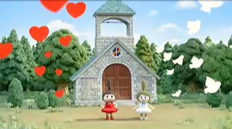 ベルコの「ベルちゃんルコちゃん」のCMが同性婚に見える