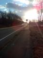freetel priori2 FT142A 太陽の方向を撮影