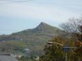 室蘭 とんがっている山