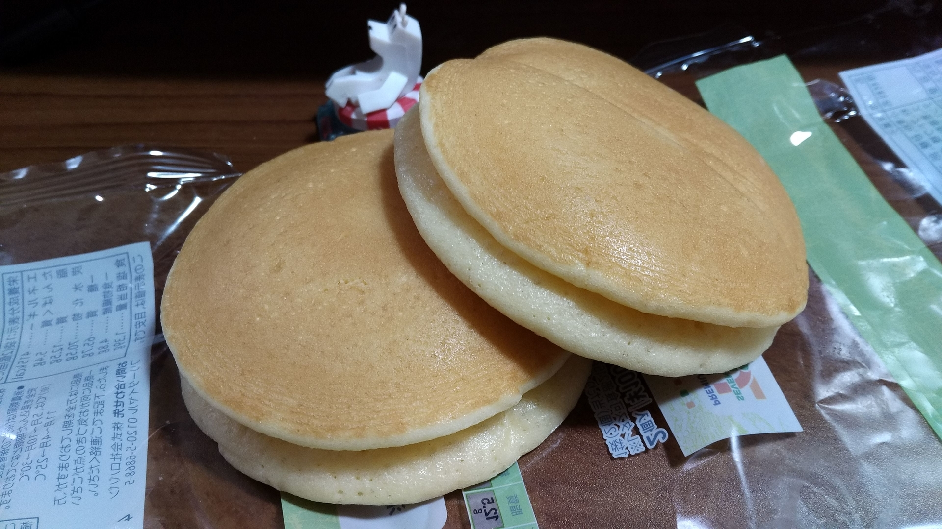 7&i メープル&マーガリン 全粒粉入りもちふわパンケーキ