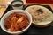 なか卯 ざるそば(山わさび添え) 和風牛丼ミニ