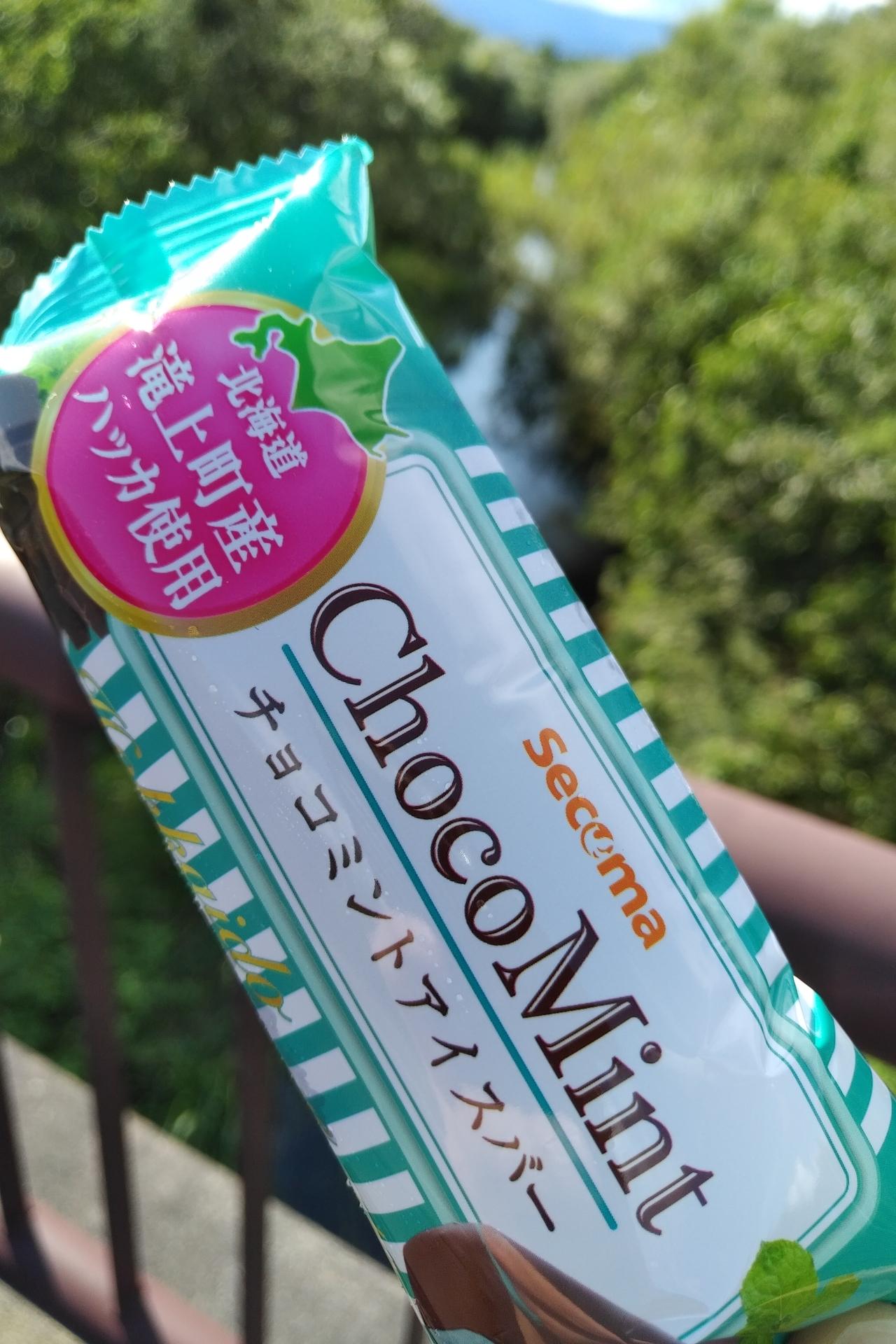 セイコーマート チョコミントアイスバー