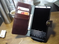 kalibri 本革カバー BlackBerry KEYone