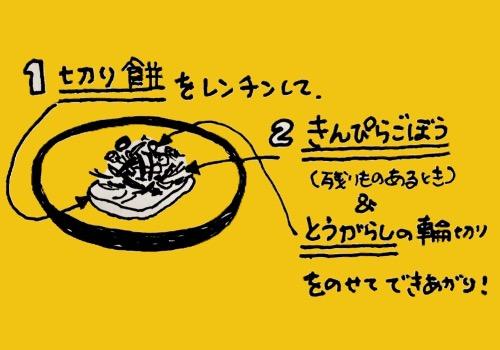 きんぴらごぼう餅