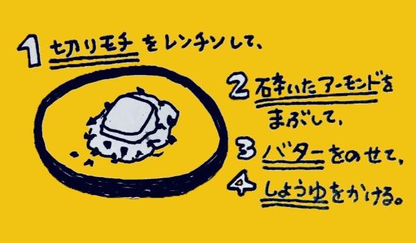 アーモンド餅