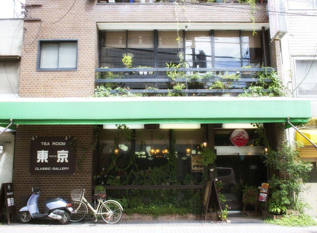岡山・喫茶東京_外観