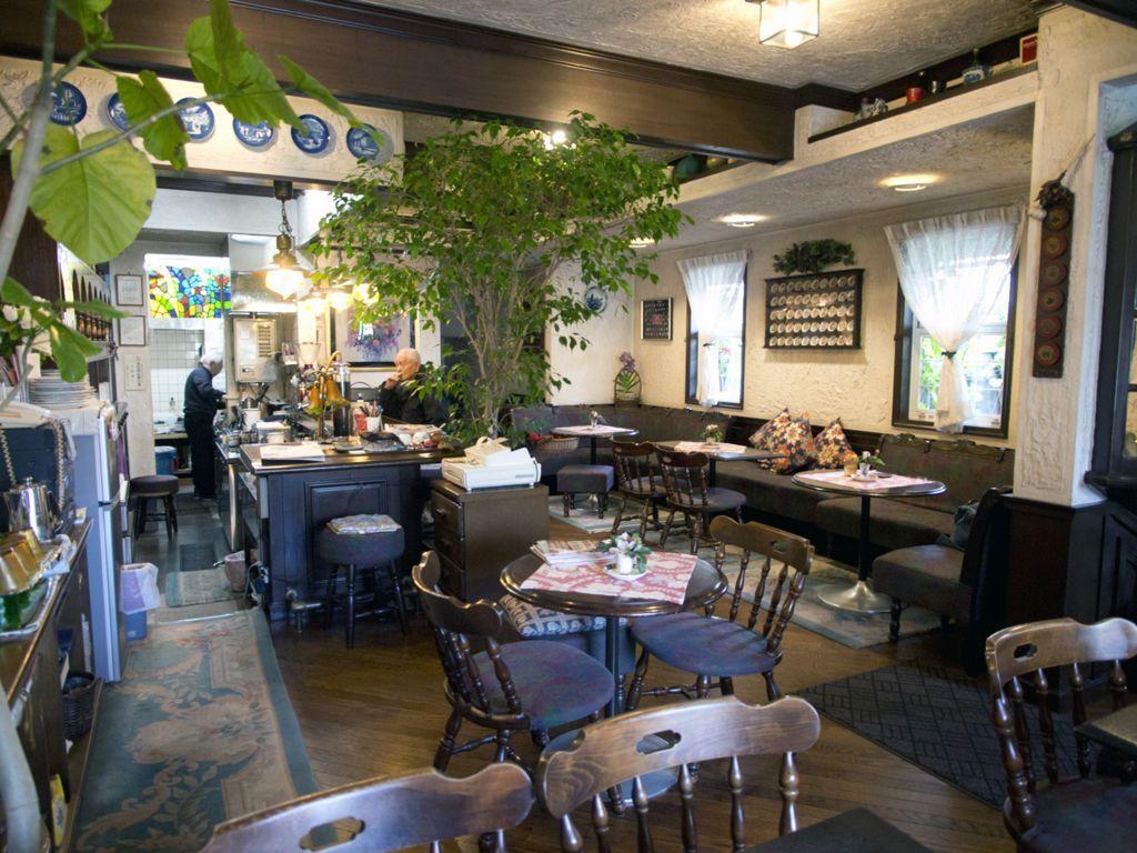 猫のいる喫茶店・和蘭豆