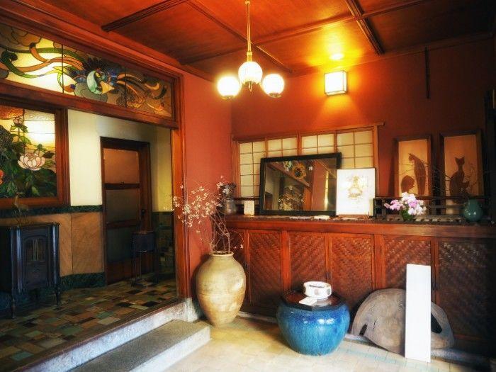 きんせ旅館玄関ホール