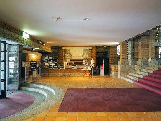 帝国ホテル中央玄関・フロント