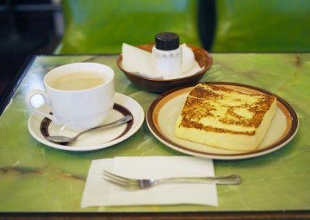喫茶セブン・フレンチトーストモーニング