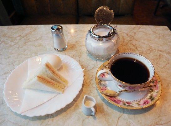 東部市場駅・喫茶&グリル幸の屋_モーニング