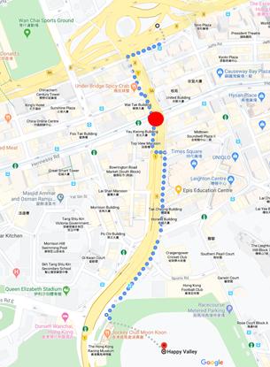 徒歩ルート(200万人デモ)