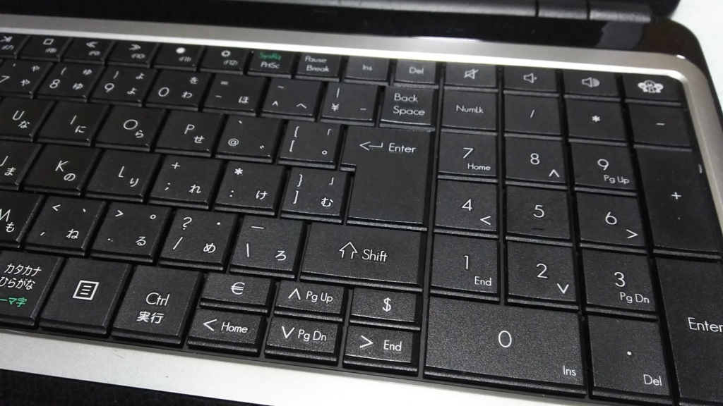 キーボード ノートPC