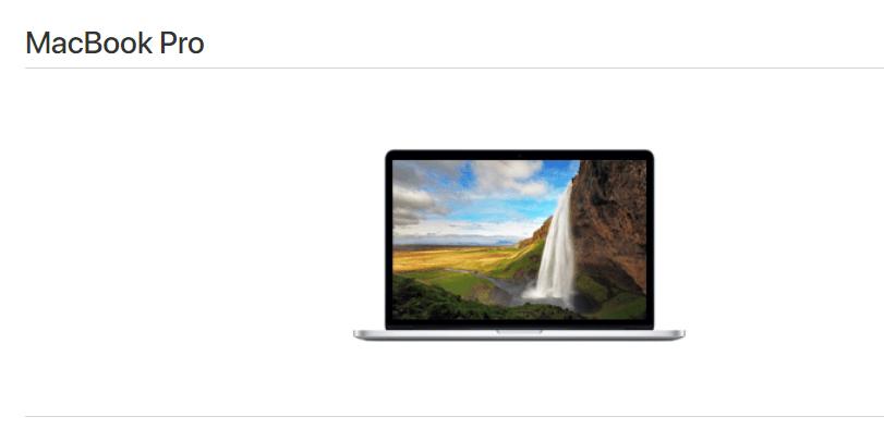 MacBook Pro 2015年
