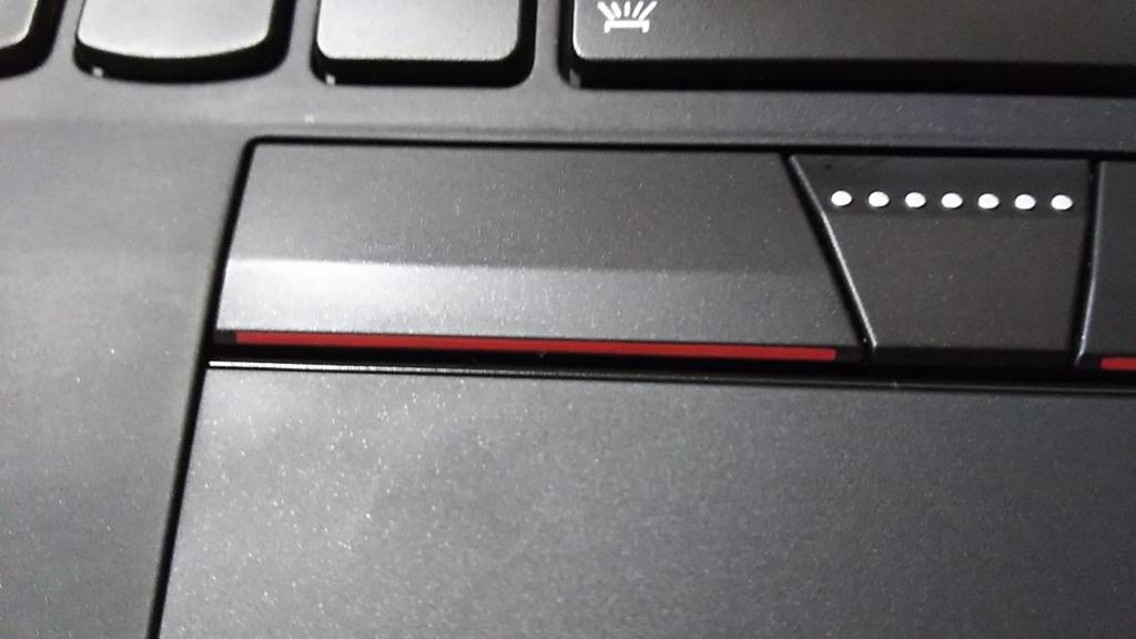 ThinkPad タッチパッド