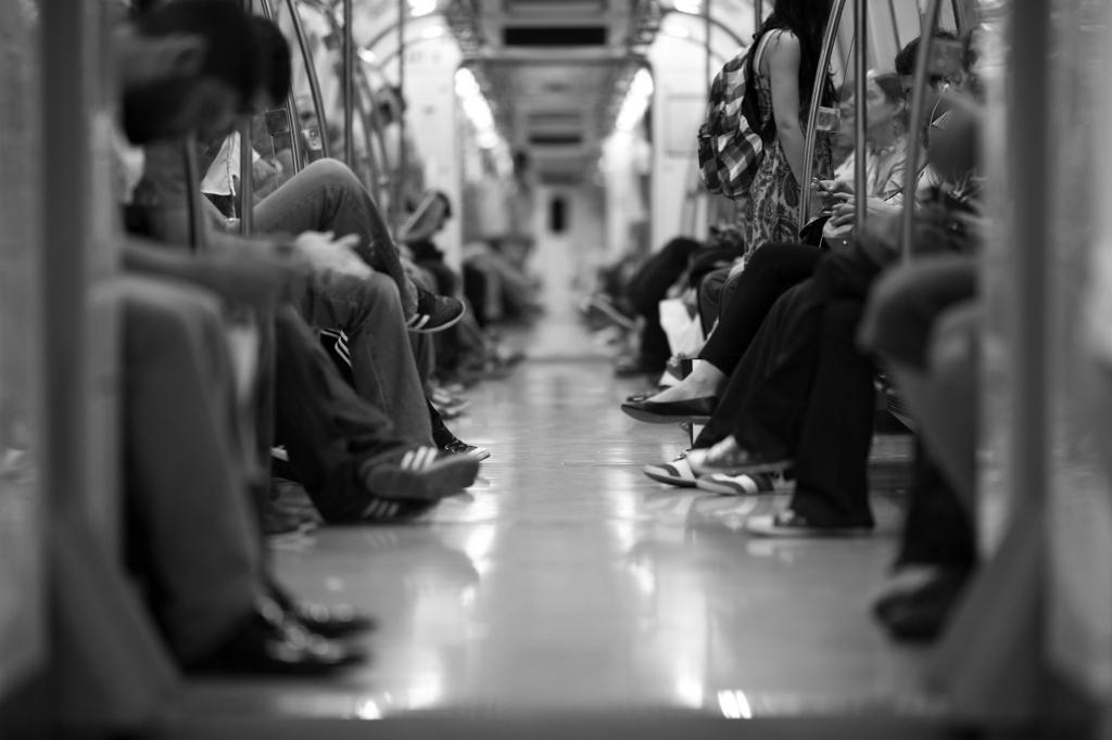 地下鉄 マナー