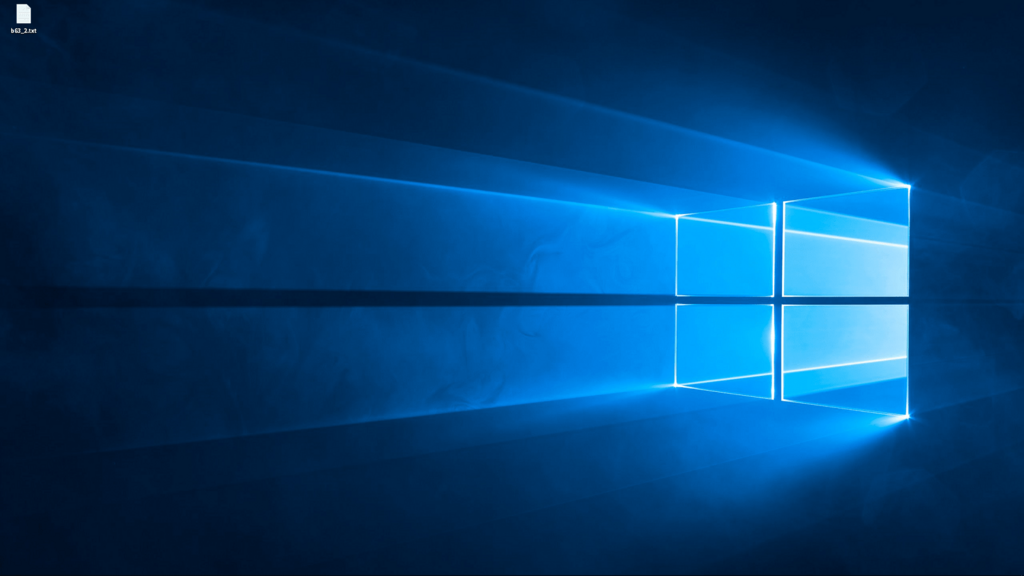 Windows 10 画面