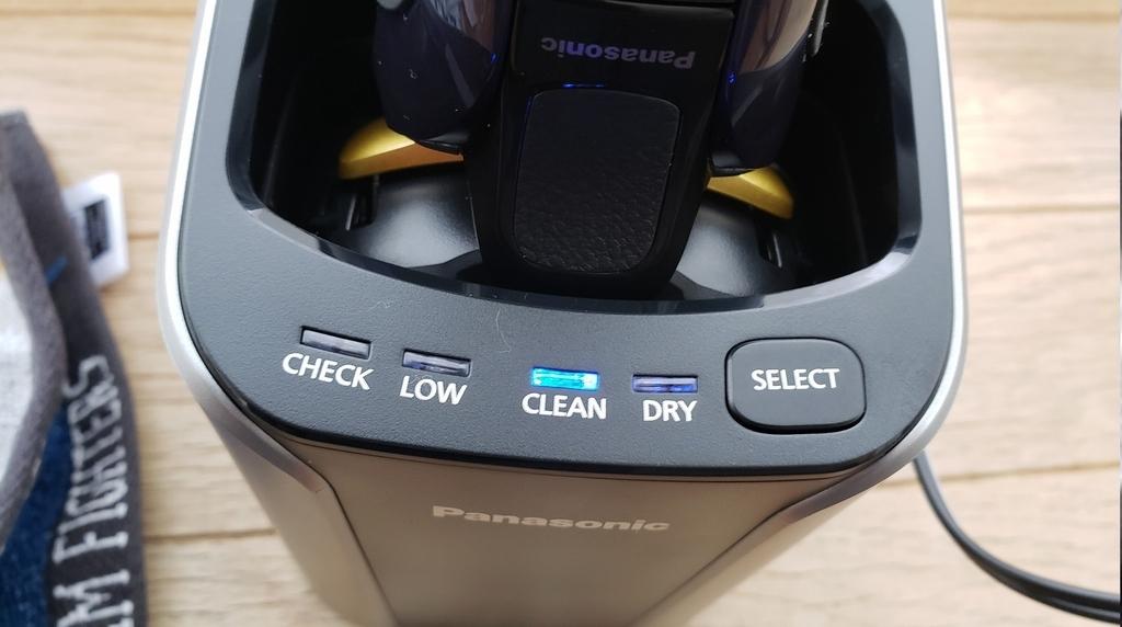 電子シェーバー 洗浄機