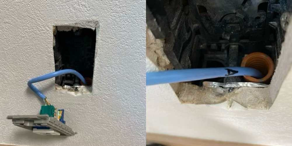 2F Mac 接続側