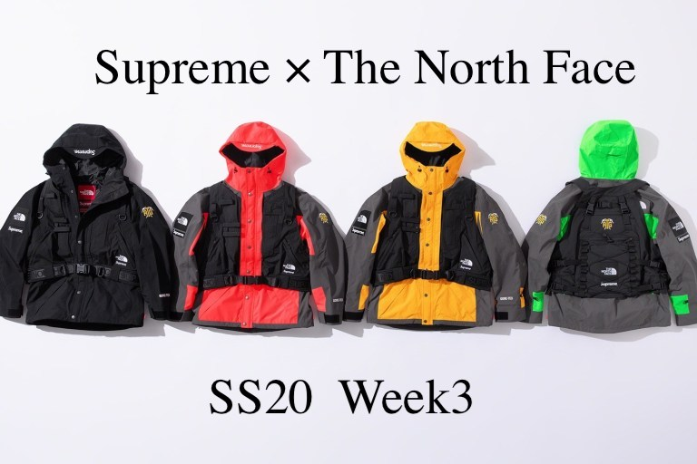 WEEK3 Supreme×The North Face コラボ