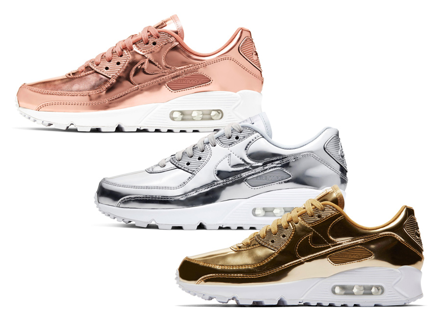 "NIKE AIR MAX 90 SP ""Metallic Pack"""
