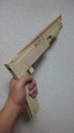 連射式ゴム銃 1