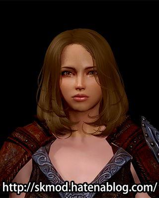 顔だけ違うテクスチャのリディアさん