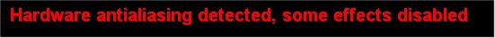 ハードウェアAAの警告