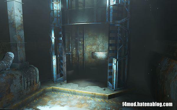 消えたVaultの扉とエレベータ