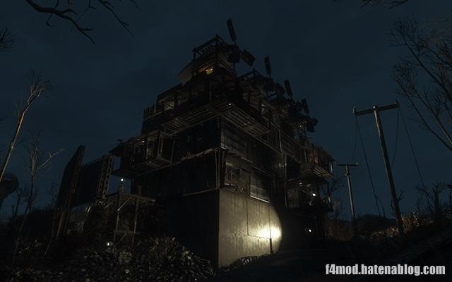 レッドロケット砦裏口