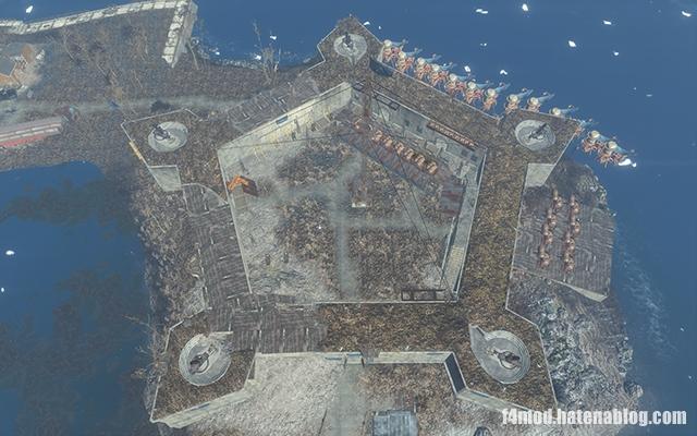 五角形のインディペンデンス砦