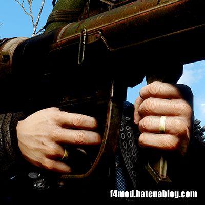 右手指輪とミサイル