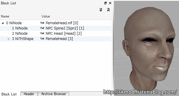 PC用の頭部