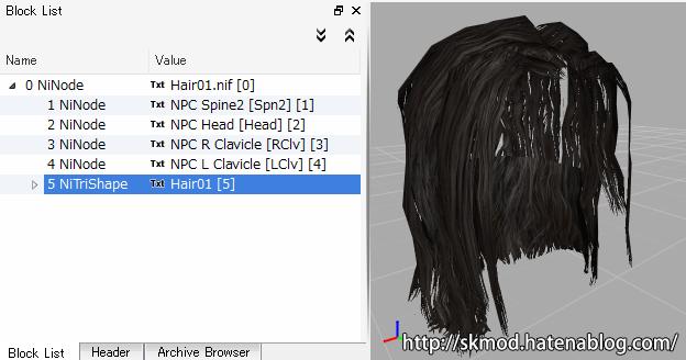 PC用の髪