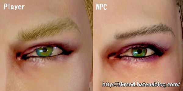 目の新規テクスチャ追加