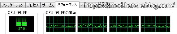 SE版CPU負荷