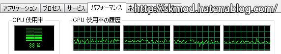 SE版CPU負荷(軽量)