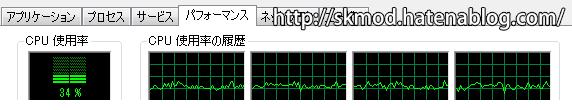 SE版CPU負荷(リテクスチャ)