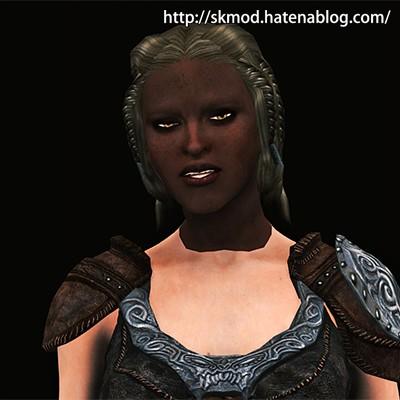 顔黒になったリアさん