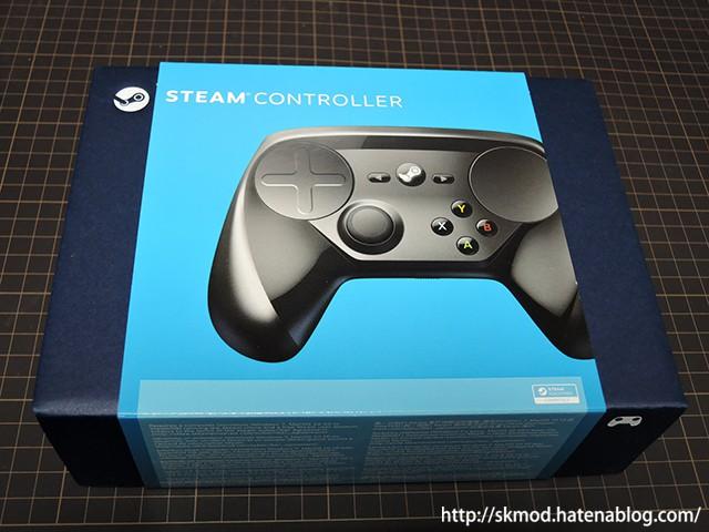 Steamコントローラの外箱