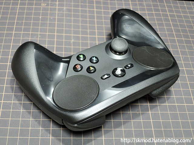 Steamコントローラのグリップ