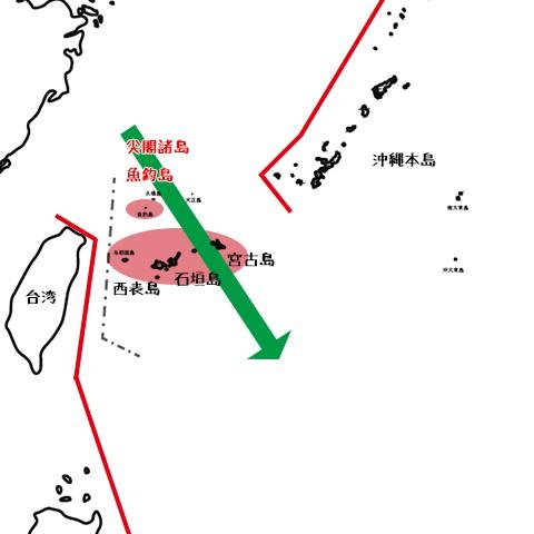 石垣島を制圧