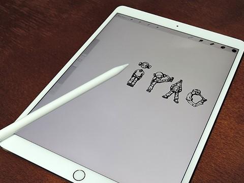 ApplePencilで落書き