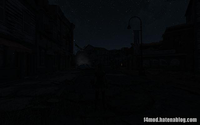 DarkerNightsで真っ暗な夜