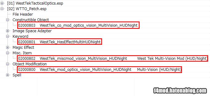 HUD/Night用の追加オブジェクト